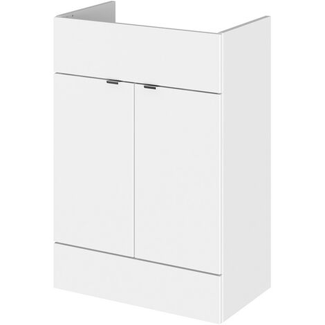 Premier 1105mm Combination Toilet And Basin Unit Gloss White Rh