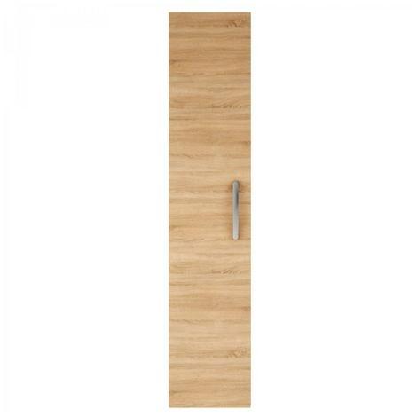 Premier 1435mm Tall Cupboard Unit In Natural Oak