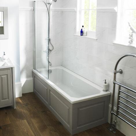 Premier Ascott Single Ended Rectangular Bath 1700mm x 750mm 0 Tap Hole