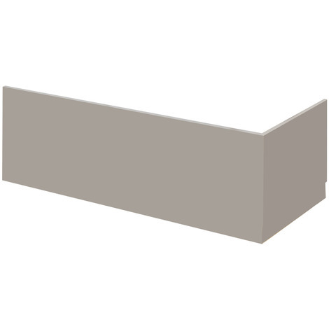 Nuie Athena Stone Grey 1800mm Front Bath Panel - MPC407