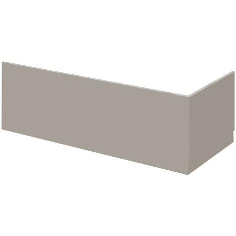 Nuie Athena Stone Grey 800mm End Bath Panel - MPC413