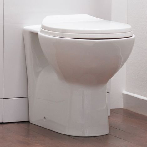 Premier Brisbane Back To Wall Toilet And Soft Close Seat