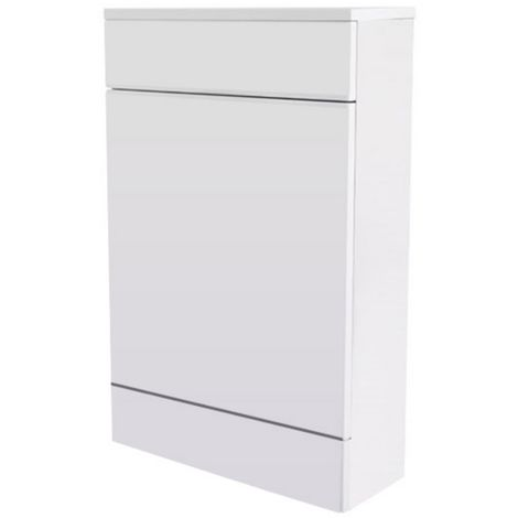 Premier Cardinal 500 X 800mm Back To Wall Toilet Unit High Gloss White