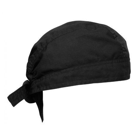 Premier Chefs Zandana / Hat / Chefwear (One Size) (Black)