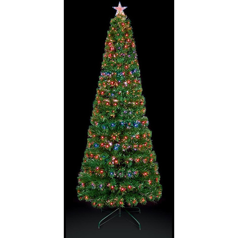 ea06295e6729 Premier Decorations - 80cm Slim Star Tree with Colour Changing LED ...