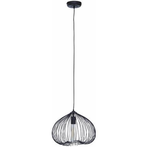 "main image of ""Premier Housewares Chandelier / Ceiling Light Sleek Pendant Lights For Ceiling / Hallway / Living Room Geometric Pattern Lighting For Halls / Bedroom 38 x 150 x 38"""