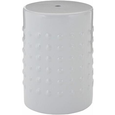Premier Housewares Complements Light Grey Table / Stool