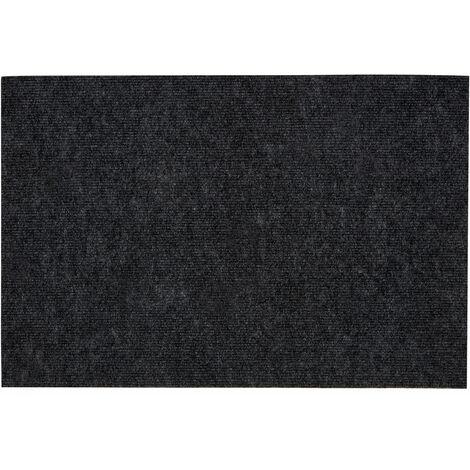 """main image of """"Premier Housewares Dark Grey Door Mat / Non Slip Floor Mat Indoor and Outdoor Welcome Mat With Robust Coir For Door Entrances / House Entryway / Kitchen / Outside Porch 40 x 2 x 60"""""""