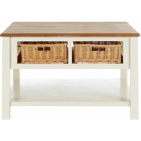 "main image of ""Premier Housewares Dorset Cream Coffee Table"""