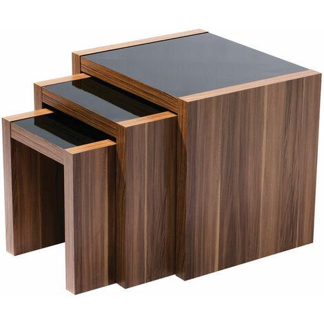 "main image of ""Premier Housewares Fargo Nest of 3 Tables"""