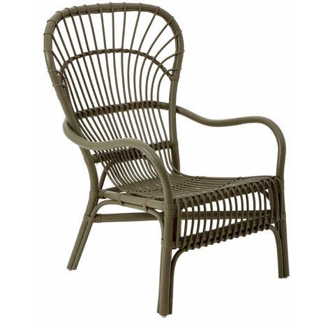Premier Housewares Havana Grey Rattan Relax Chair