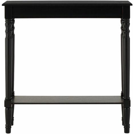 "main image of ""Premier Housewares Heritage Black Console Table"""