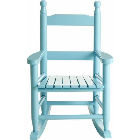 Premier Housewares Kids Blue Rocking Chair