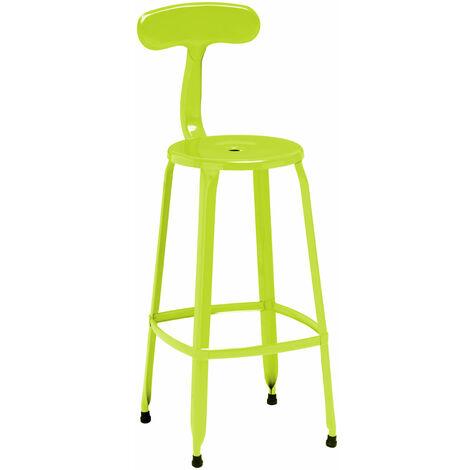 Premier Housewares Lime Green Disc Bar Chair