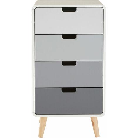 Premier Housewares Milo 4 Drawer Cabinet
