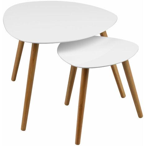 Premier Housewares Nostra Nest of 2 Tables