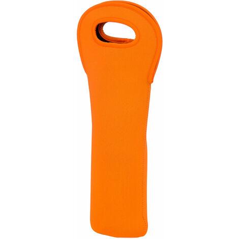 Premier Housewares Orange Neoprene Wine Bottle Holder