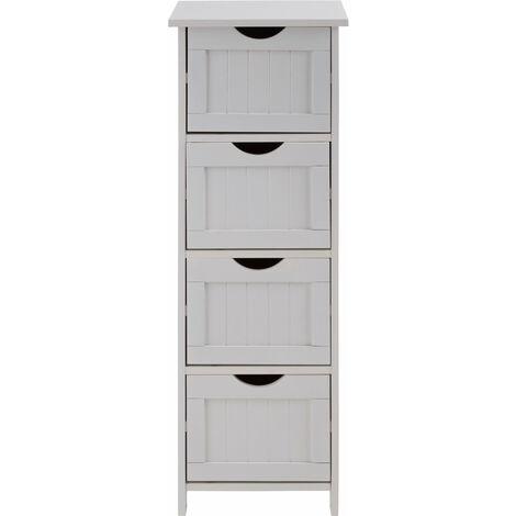 Premier Housewares Portern 4 Drawer Cabinet