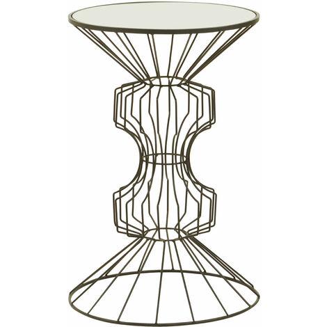 Premier Housewares Yaxi Black Finish Table