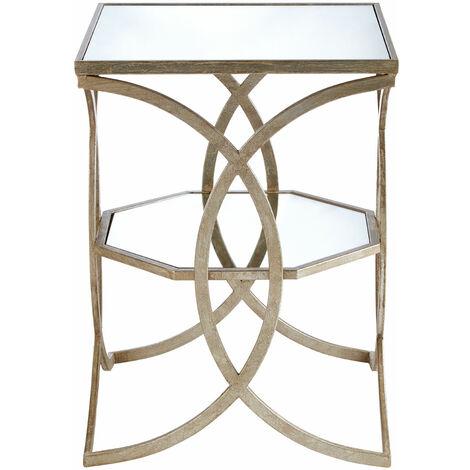 Premier Housewares Zariah Cross Design Side Table