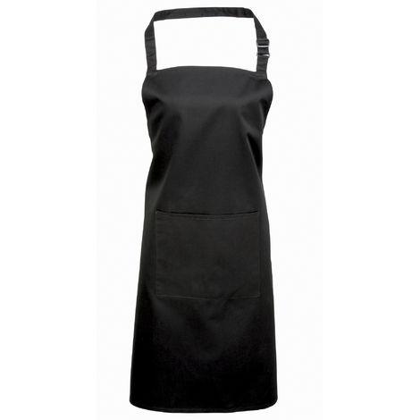 Premier Ladies/Womens Colours Bip Apron With Pocket / Workwear