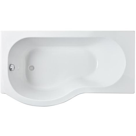 Premier Left Hand P Shape Shower Bath 1500 x 850mm