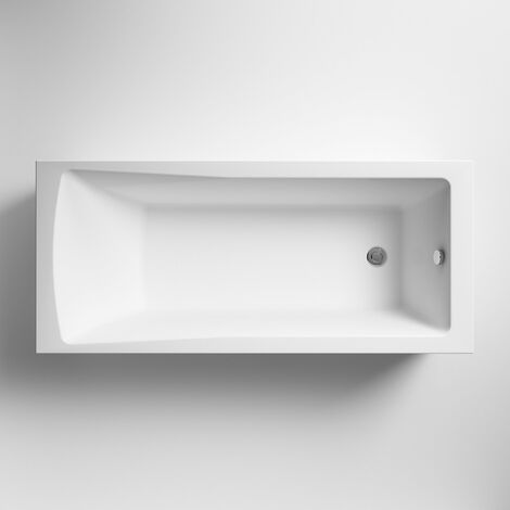 Premier Linton Single Ended Rectangular Bath 1600mm x 700mm - Acrylic