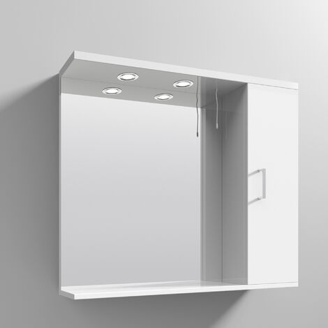 Premier Mayford Complementary Bathroom Cabinet 850mm W White
