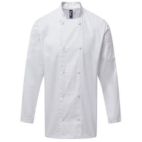 Premier Mens Coolchecker Long-Sleeved Chef Jacket