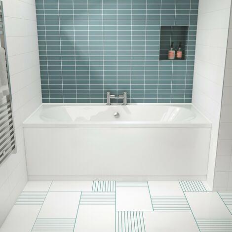 Premier Otley Double Ended Rectangular Bath 1800mm x 800mm - Acrylic