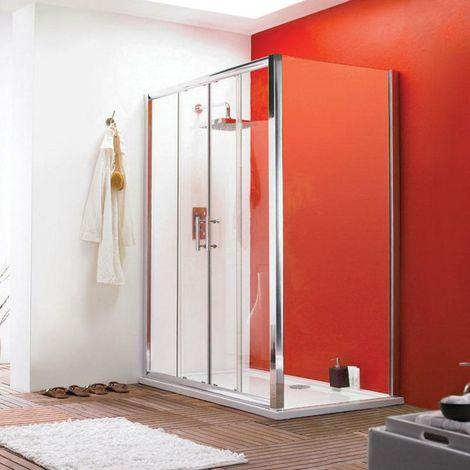 Premier Pacific 1400mm Double Sliding Shower Door