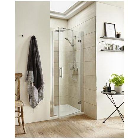 Premier Pacific 800mm Hinged Shower Door
