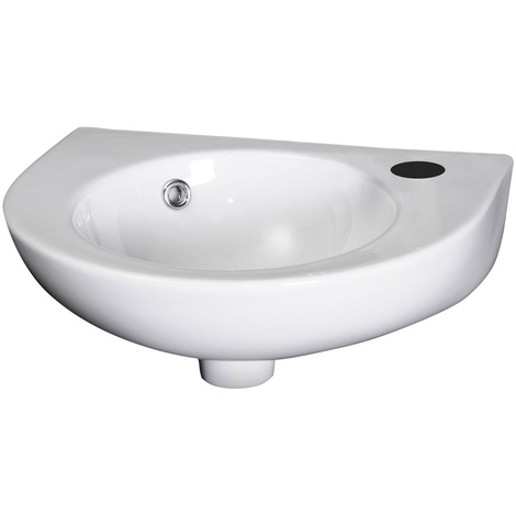 Premier Round 450mm Wall Hung Basin - NCU942