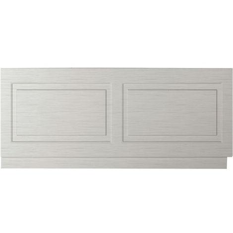 Premier Stone Grey Woodgrain York 1800mm Bath Front Panel