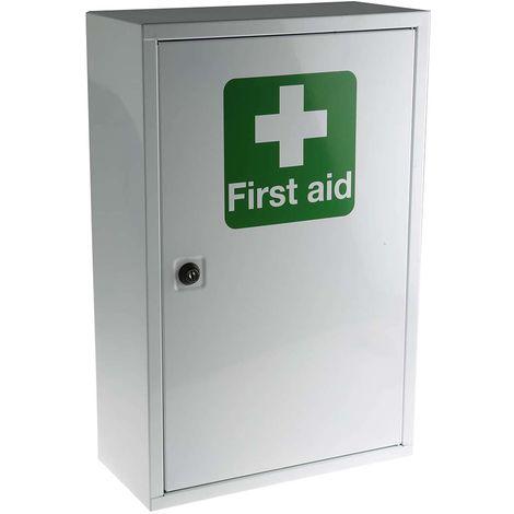 Premiers secours et Kit de nettoyage oculaire RS PRO pour 10 personnes, Type Mural,