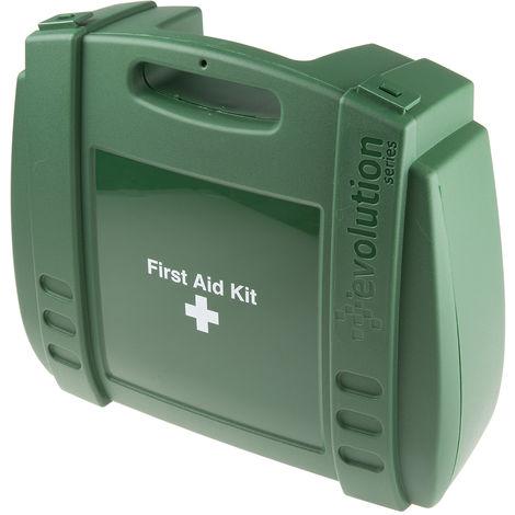 Premiers secours et Kit d'extinction RS PRO pour 10 personnes, Type Etui, largeur 350mm