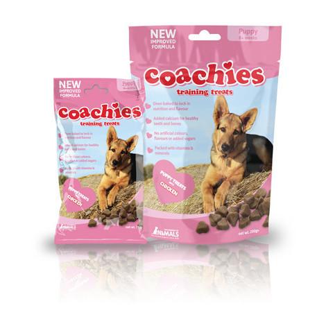 Premios para el adiestramiento de cachorros Coachies Training Treats Puppy