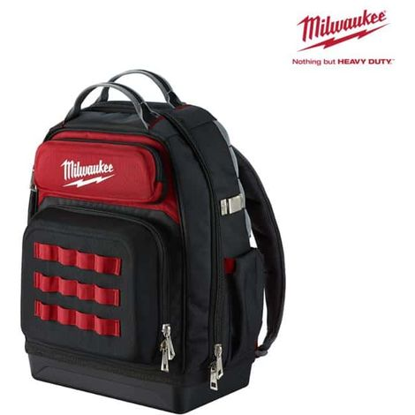 Premium construction site backpack MILWAUKEE - 4932464833
