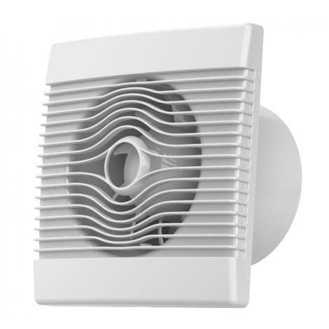 Premium kitchen bathroom wall high flow extractor fan 100mm with humidity sensor