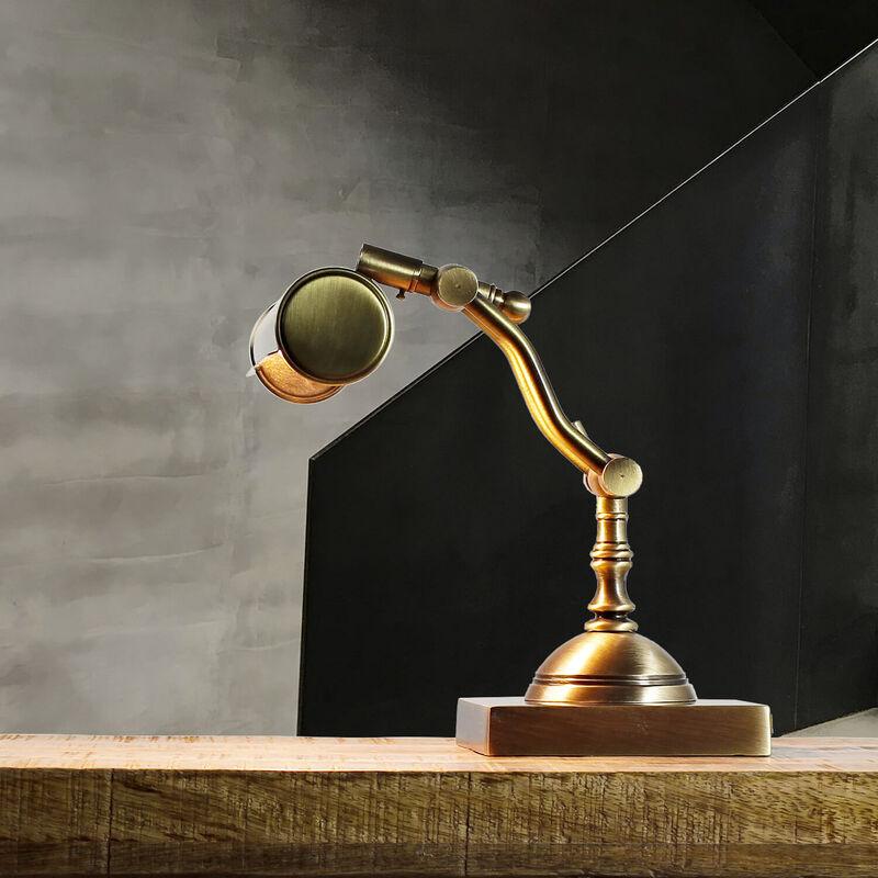 Premium Messinglampe Schreibtischleuchte Jugendstil