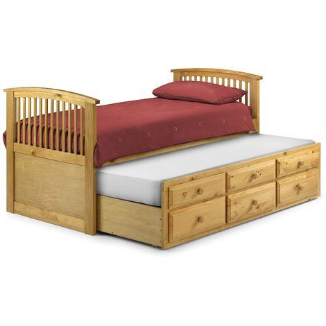 Premium Pine Finish Cabin Bed 3ft (90cm) - Best Seller