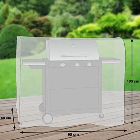 Premium Schutzhülle für Gasgrill/Gasgrillküche/Grillwagen Größe S (90 x 60 cm)