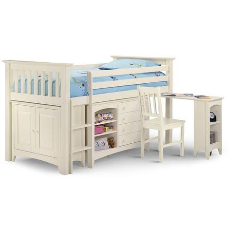 Premium Stone White Sleep Station 3ft (90cm) - Best Seller