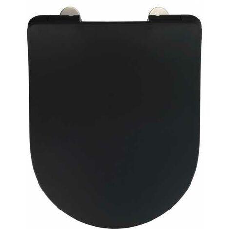 Premium toilet seat Sedilo black matt WENKO
