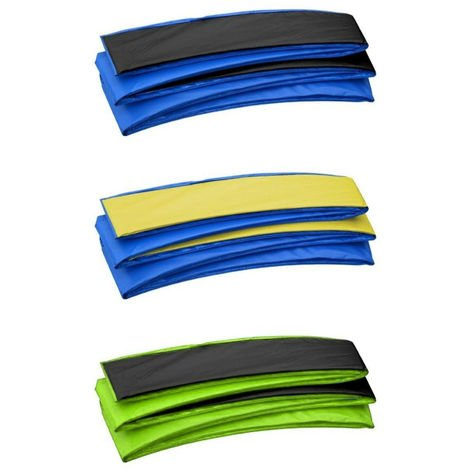 Premium Trampoline Replacement Safety Pad (Spring Cover) | Fits Upper Bounce Rectangular Frames - Trampoline Padding for Maximum Safety