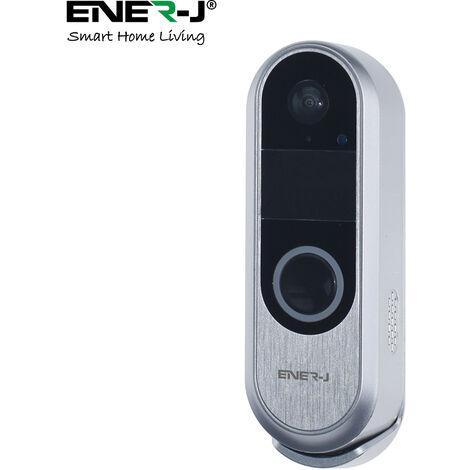 Premium Wireless Slim Video Doorbell with 3500 battery, 2 Way Audio
