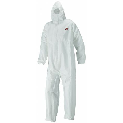 Prenda mono 4520 3M protección cómoda frente a polvo salpicaduras leve Blanco+Verde