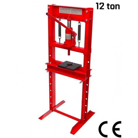 Prensa hidraulica 12 toneladas con certificado CE para taller mecanico