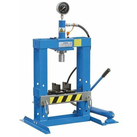 Prensa hidráulica manual 10000kg FERVI P001/10