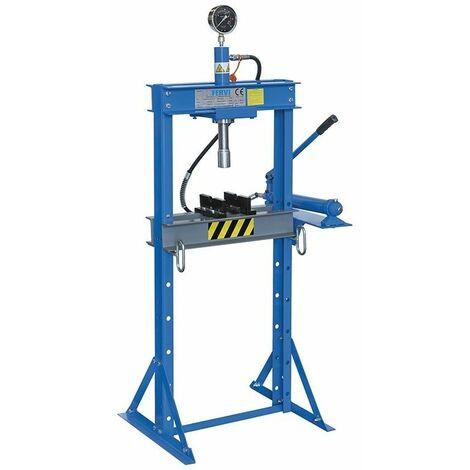 Prensa hidráulica manual 12000kg FERVI P001/12